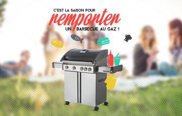 Remportez un barbecue au gaz de la marque Napoleon Grills