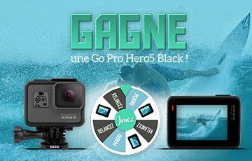 Gagne une Go Pro Hero5 Black !