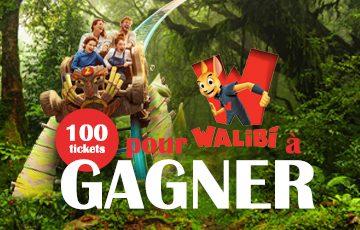 100 tickets pour Walibi à gagner !