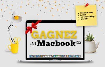 Gagnez un MacBook Pro !