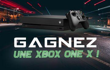 Gagnez une Xbox One X !