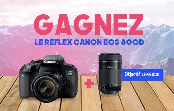 Gagnez un Canon EOS 800D !