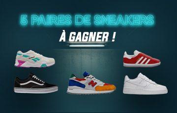 Choisis ta paire de sneakers comfortable et stylée pour l'été !