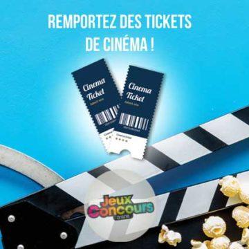 Jeux Concours Online Tickets de Cinema