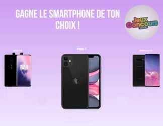 Jeux Concours Online iPhone 11 Samsung Galaxy S10+ One Plus 7 Pro