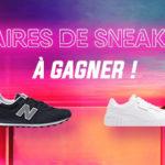 5 paires de sneakers a gagner Jeux Concours Online