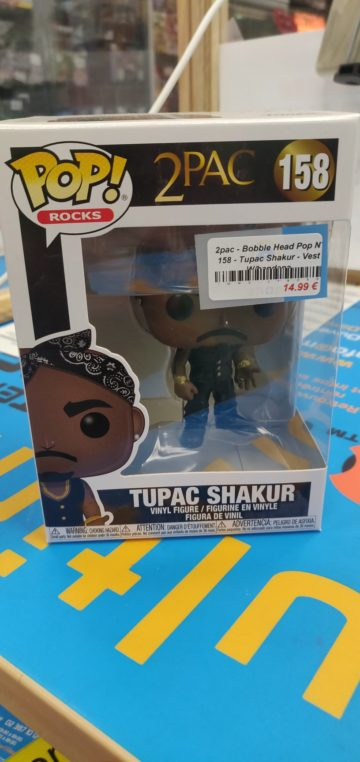 Funko Pop Tupac Multimedia Shop Concours