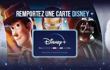 Concours – 1 an Disney Plus à gagner !