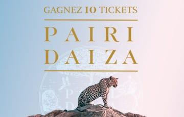 10 tickets Pairi Daiza à Remporter – Jeux Concours Online