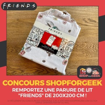 Shopforgeek draps de lit Friends