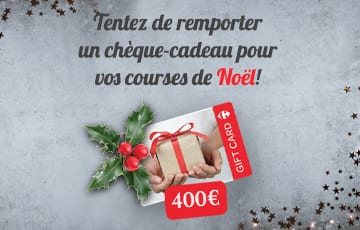 Chèque-cadeau de 400€ à gagner – Carrefour