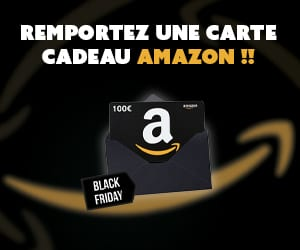 Carte cadeau Amazon de 100€ à remporter !