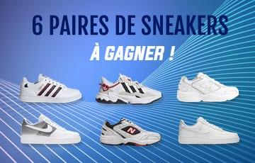 Gagnez une paire de sneakers !