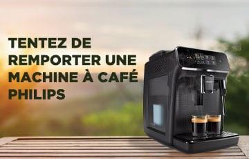 Gagnez une machine à café Philips