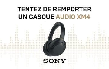 Gagnez un casque MX4 Sony !