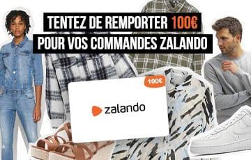 CONCOURS – Tentez de remporter 100€ sur Zalando !