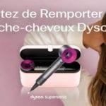 jeux concours online Dyson sèche-cheveux