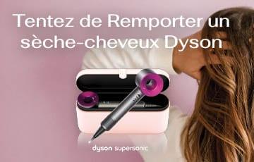 Concours – Gagnez un sèche-cheveux Dyson !