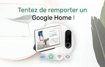 Concours – Gagnez un set Google Home !
