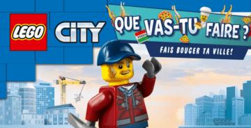 AVENTURE LEGO CITY happy mail