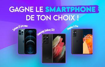 Remportez le smartphone de votre choix !